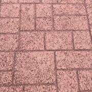 ストリートプリント アスファルト型押し再加熱工法 アシュラスレート
