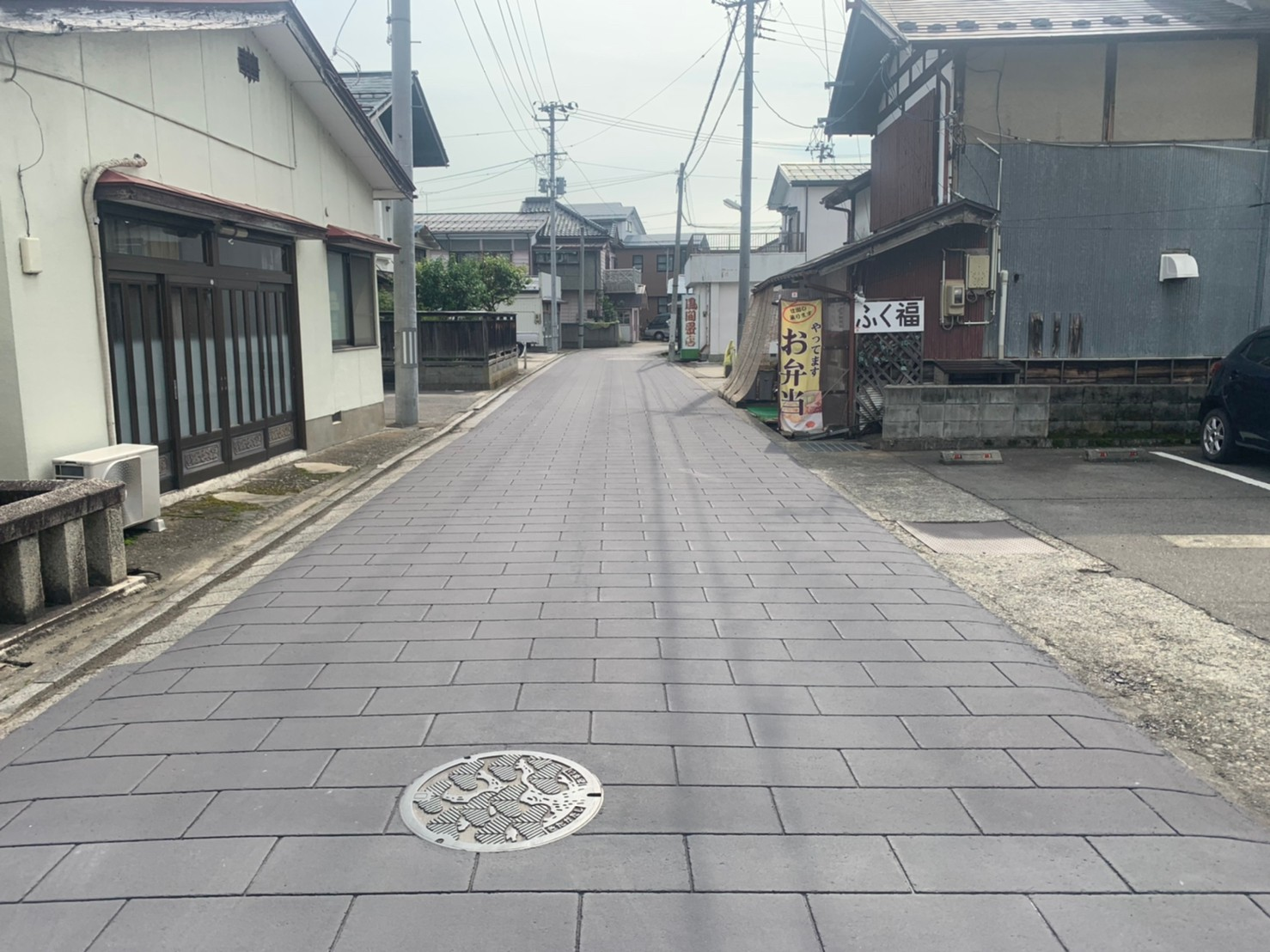 ストリートプリント streetprint アスファルト型押し再加熱工法 型押しアスファルト 景観工法 ストリートボンド streetbond 水性アクリルエポキシ強化樹脂 ストーンぺイブ