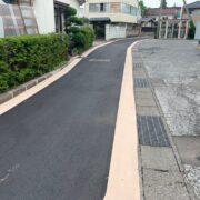ストリートプリント streetprint アスファルト型押し再加熱工法 型押しアスファルト 景観工法 ストリートボンド streetbond 水性アクリルエポキシ強化樹脂