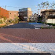 ストリートプリント streetprint アスファルト型押し再加熱工法 型押しアスファルト 景観工法 ストリートボンド streetbond 水性アクリルエポキシ強化樹脂 アシュラースレート オフセットブリック