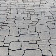 ストリートプリント streetprint アスファルト型押し再加熱工法 型押しアスファルト 景観工法 ストリートボンド streetbond 水性アクリルエポキシ強化樹脂 ランダムスレート